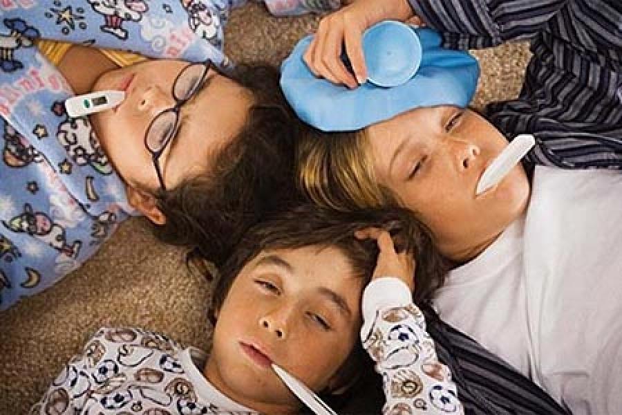 В Москве в текущем году гриппом заболело в 16 раз меньше чем в прошлом