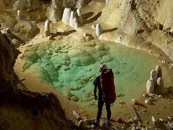 Пещерные бактерии оказались устойчивы к современным антибиотикам