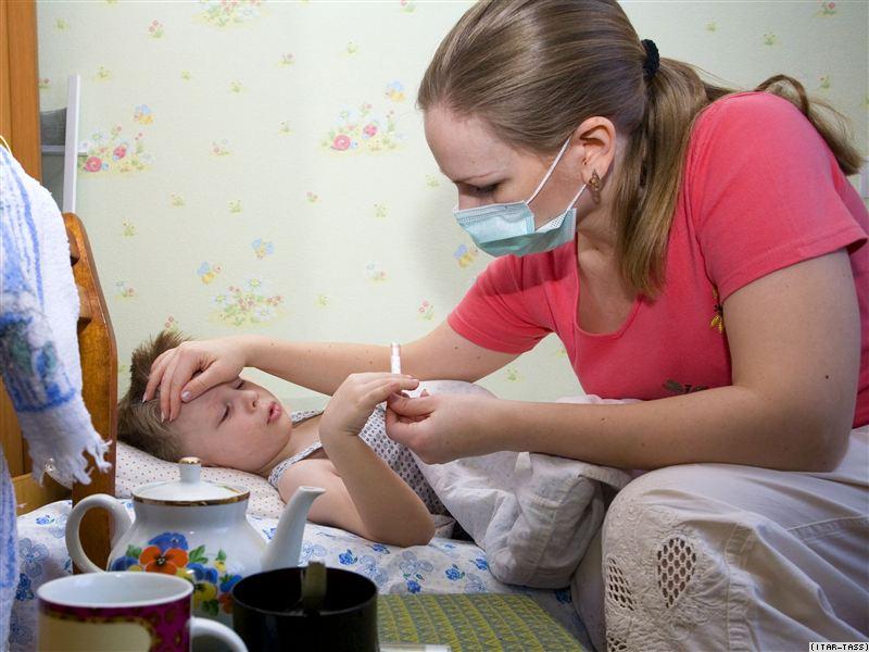 Эпидемиологический порог по гриппу и ОРВИ превышен в Красноярском крае