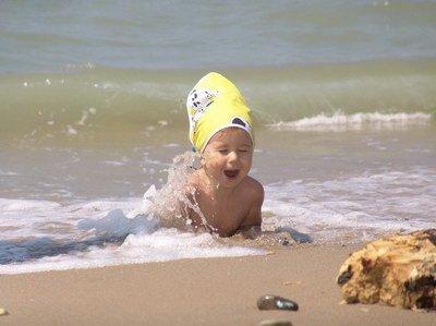 Детские простуды на море