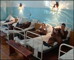 В Подмосковье 22 солдата-срочника заболели пневмонией