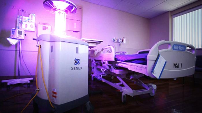 В больницах США с супербактериями будут бороться роботы