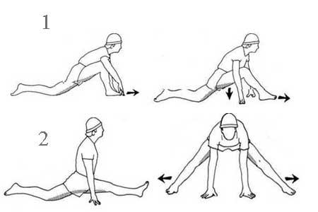 Как сесть на шпагат