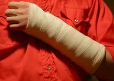Переломы костей у детей: клиника