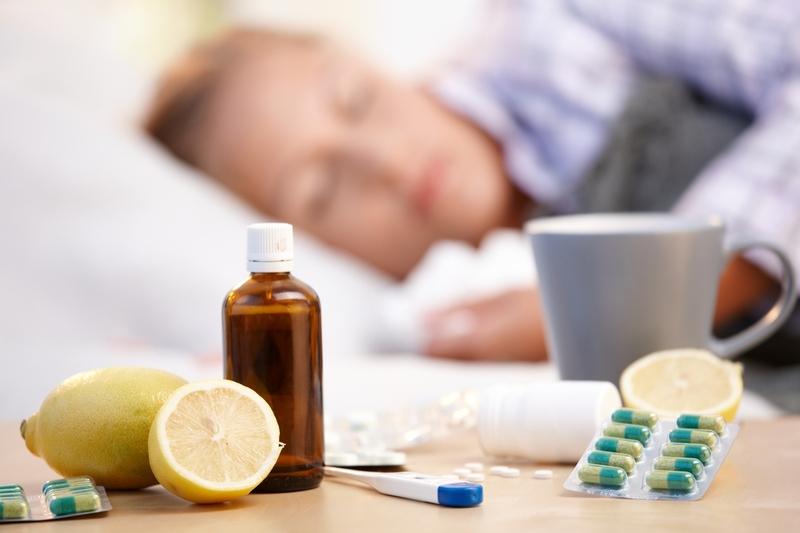 Если ты заболела гриппом