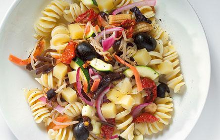 Здоровое питание. Паста с овощами
