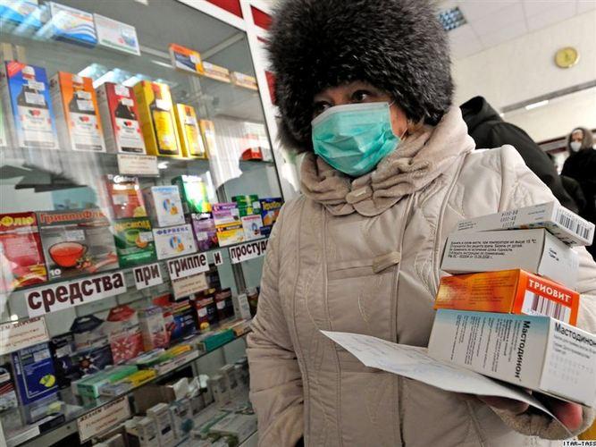 В Украину идет новая волна гриппа