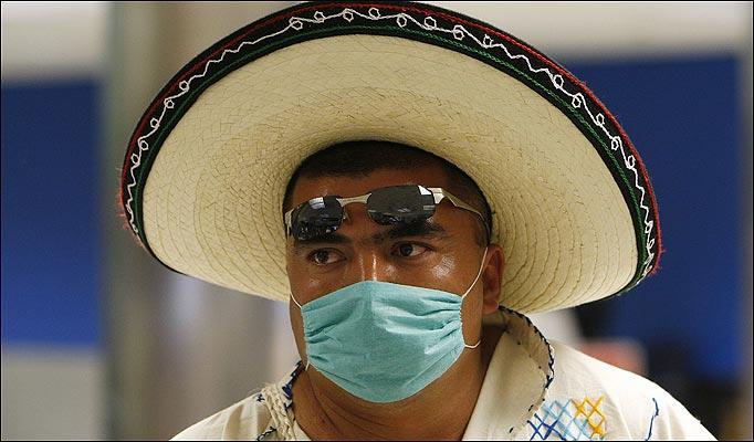 В Мексике началась пандемия свиного гриппа: 251 человек умер