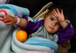 Полиомиелит на Востоке: массовая вакцинация опаздывает