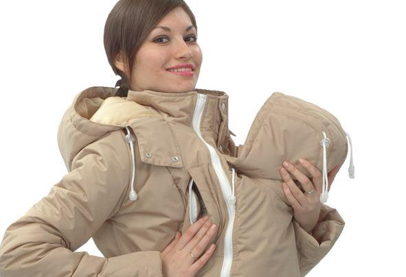 Современная одежда для мам и их малышей – слингокуртка