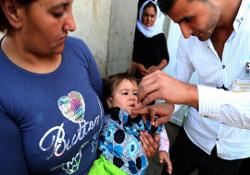 ООН инициирует массовую вакцинацию детей Ирака от полиомиелита