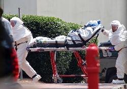 Врача из Франции будут лечить от лихорадки Эбола на родине