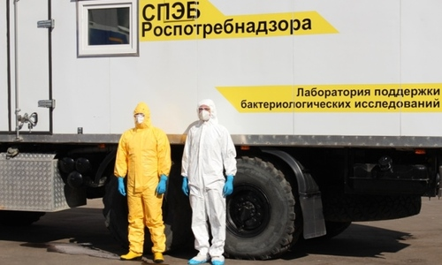 Руководитель Роспотребнадзора Анна Попова провела брифинг о ситуации с лихорадкой Эбола