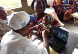Система учета вакцинации детей по отпечаткам пальцев успешно испытана