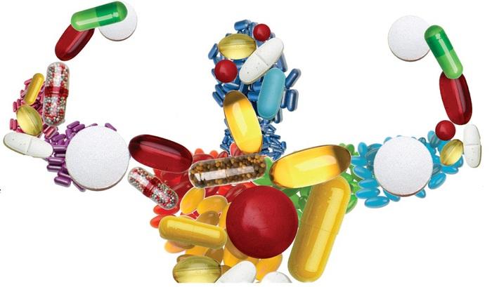 Витамины и полезные вещества для нашего здоровья