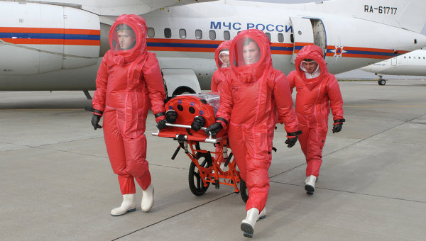 Роспотребнадзор: случаев подозрения на Эболу в России не зафиксировано