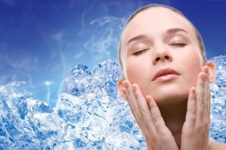 Лед – природное косметическое средство