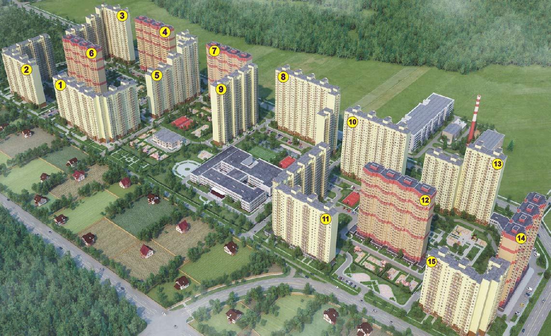 Экономичное жилье в ЖК «Алексеевская роща» в Балашихе