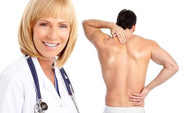 Устранение боли в области позвоночника