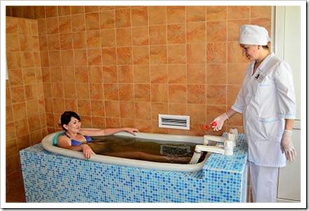 Основные показания к применению сероводородных ванн