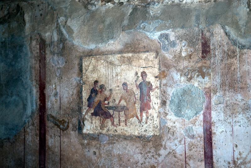 Антибиотики помогли спасти древние фрески