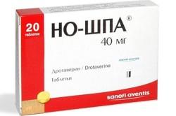 Парацетамол и но-шпа: особенности применения