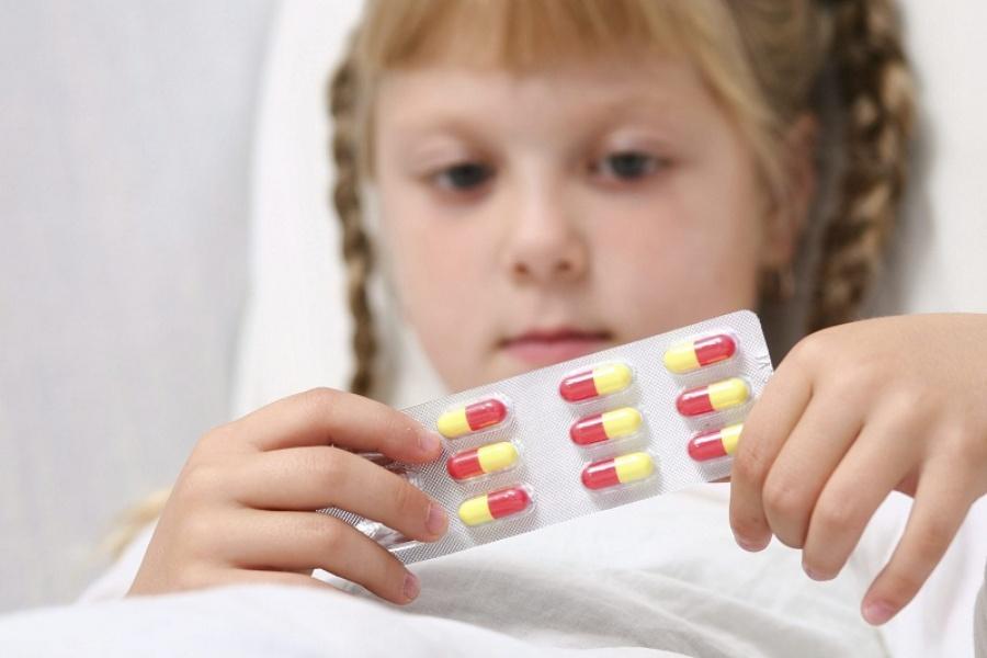 Детей чересчур пичкают антибиотиками