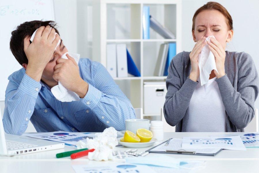 Один больной сотрудник: прямая угроза всему офису