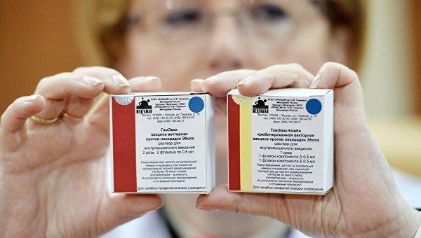 Скворцова: вакцина от Эболы дает на испытаниях устойчивый эффект