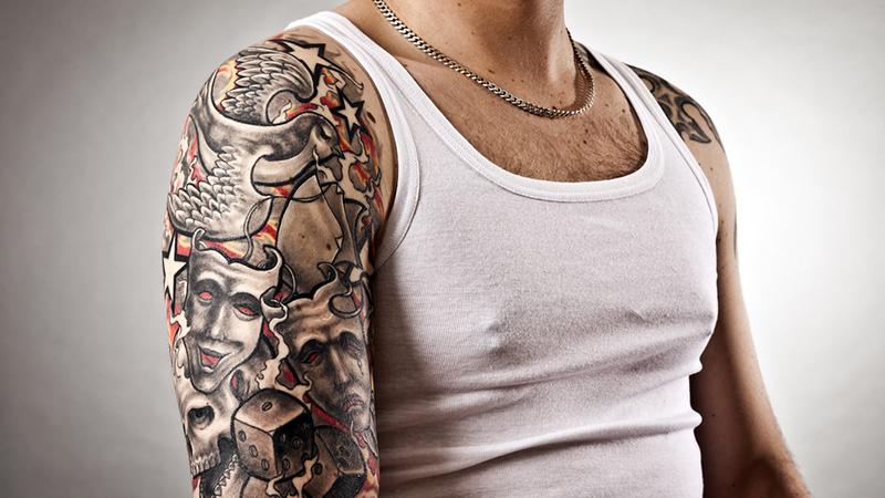 Татуировки защищают от простуды
