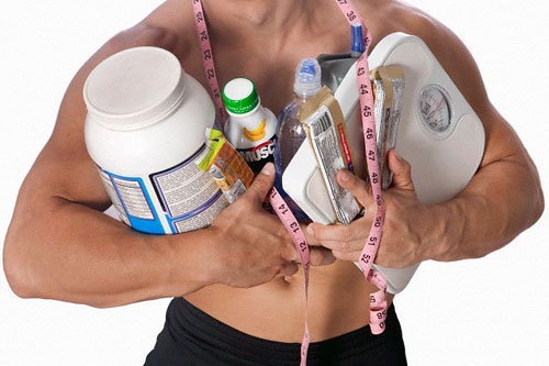 Спортивное питание. Идея: спортивное питание
