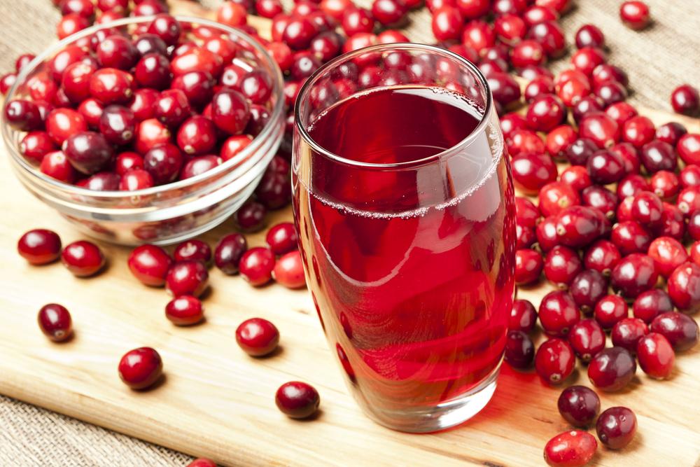 Клюквенный сок предотвращает мочевые инфекции
