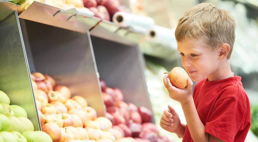 Овощи и фрукты в детском питании