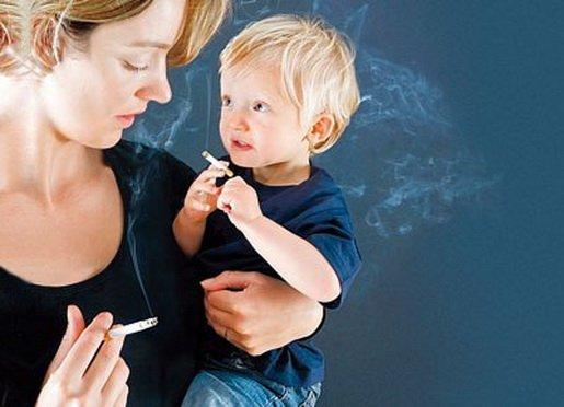 Пассивно курящие дети больше подвержены тяжелым инфекциям