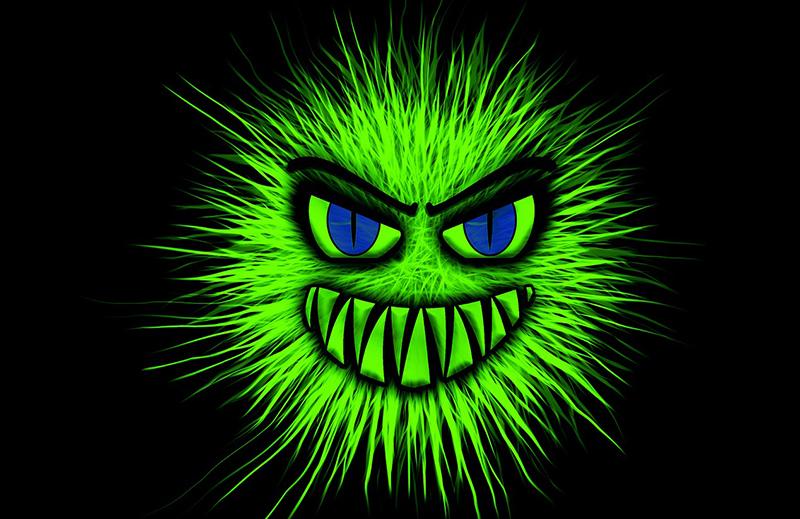 Вирусы в десять раз опаснее утром