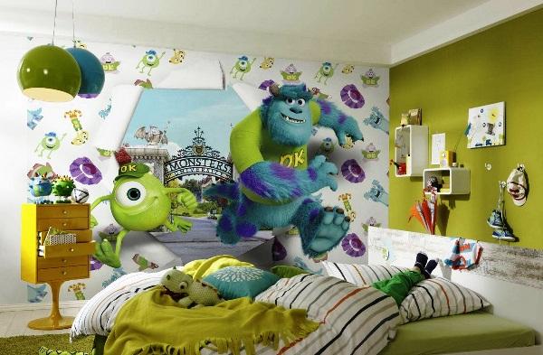Фотообои для детской комнаты: особенности выбора