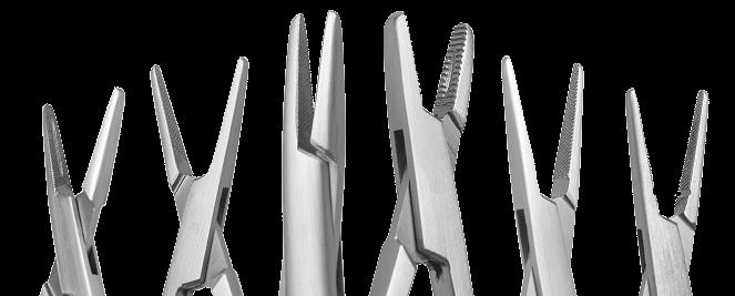 Особенности выбора хирургических игл и иглодержателей