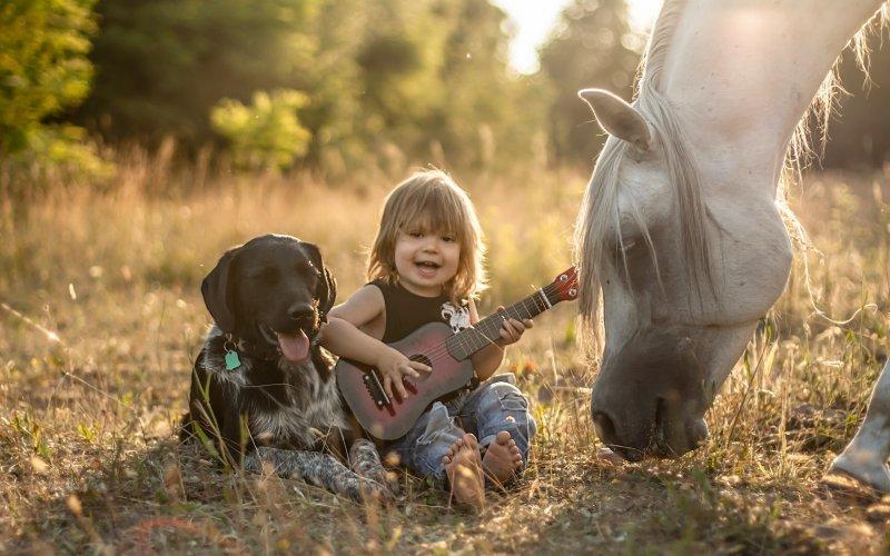 Домашние животные усиливают иммунитет ребенка — Ученые