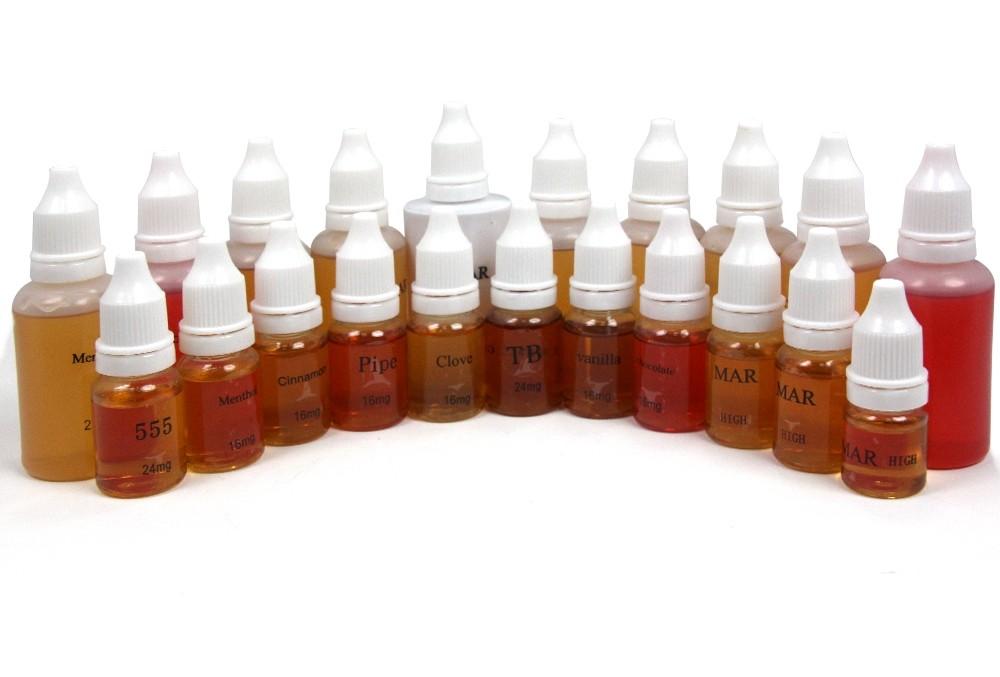 Преимущества жидкостей для электронных сигарет.