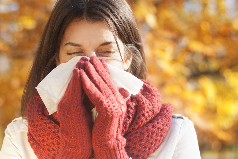 Грипп любит сухой холод и влажное тепло