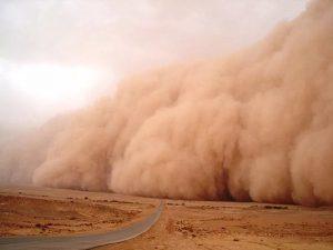 Песчаная буря из Сахары принесла в Европу опасные микробы