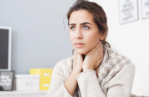 Весенняя ангина: почему болит горло