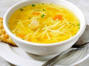 Куриный суп ускоряет выздоровление при простуде