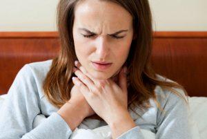 6 причин ночных болей в горле