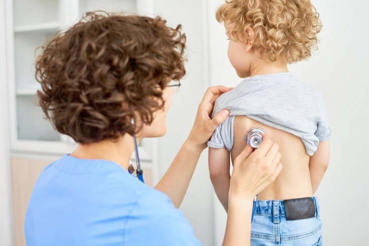 Пневмония у детей до года и младшего возраста