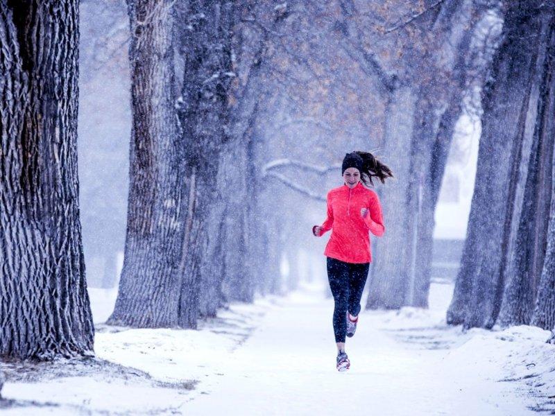 Пробежка зимой — так ли полезно для здоровья?