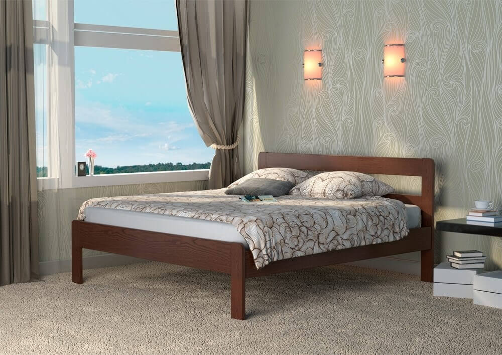 Кровати из массива – особенности, ассортимент