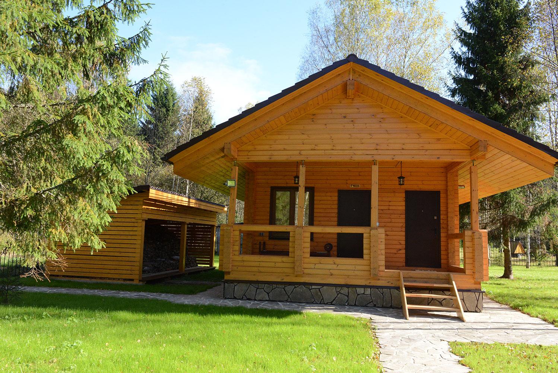 Строительство домов и бани из клееного бруса: варианты архитектурного стиля дома.